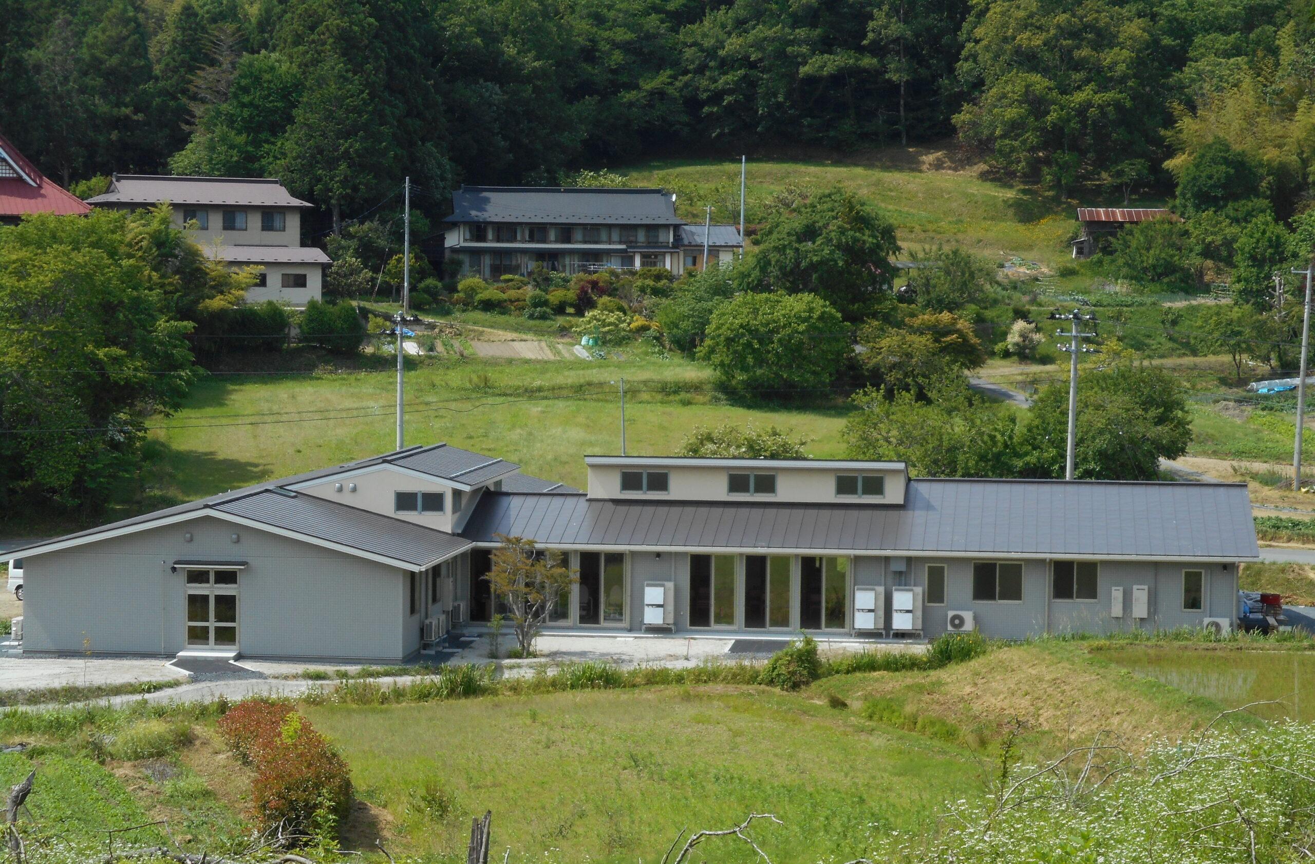 地域密着型有料老人ホームとデイサービス施設